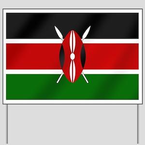 Flag of Kenya Yard Sign