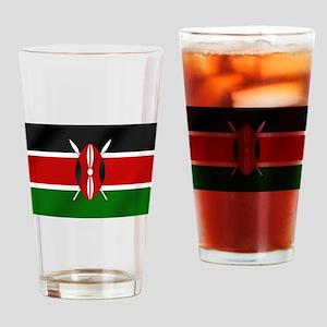Flag of Kenya Drinking Glass