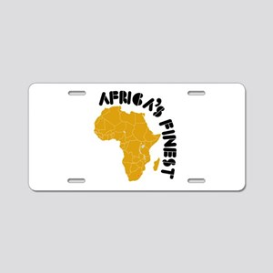 Lesotho Africa's finest Aluminum License Plate
