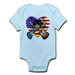 Power trio4 Infant Bodysuit