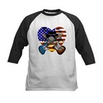 Power trio4 Kids Baseball Jersey