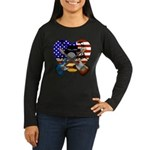 Power trio4 Women's Long Sleeve Dark T-Shirt