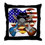 Power trio4 Throw Pillow
