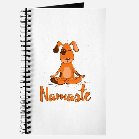 Namaste Yoga Dog Journal
