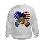 Power trio4 Kids Sweatshirt