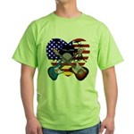 Power trio4 Green T-Shirt