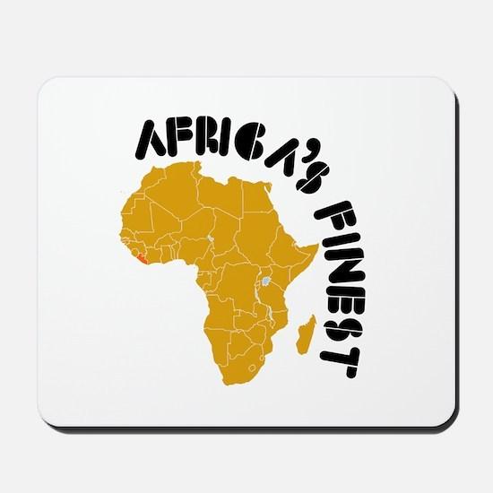 Liberia Africa's finest Mousepad