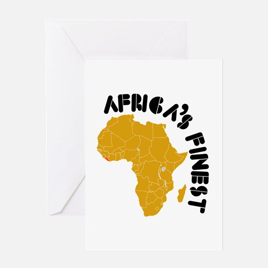 Liberia Africa's finest Greeting Card