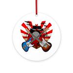 Power trio5 Ornament (Round)