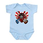 Power trio5 Infant Bodysuit