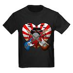 Power trio5 Kids Dark T-Shirt