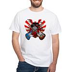 Power trio5 White T-Shirt