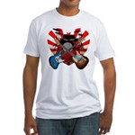 Power trio5 Fitted T-Shirt