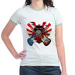 Power trio5 Jr. Ringer T-Shirt
