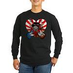 Power trio5 Long Sleeve Dark T-Shirt