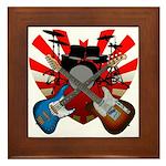 Power trio5 Framed Tile