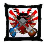 Power trio5 Throw Pillow