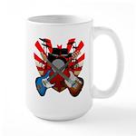 Power trio5 Large Mug