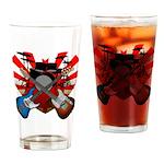 Power trio5 Drinking Glass