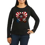 Power trio5 Women's Long Sleeve Dark T-Shirt