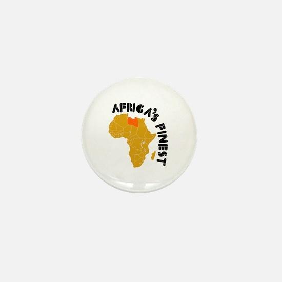 Libya Africa's finest Mini Button