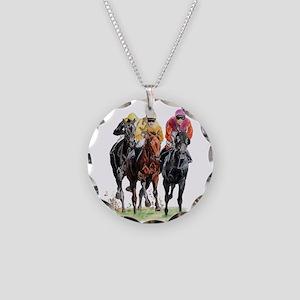 TrioOrgFix Necklace Circle Charm