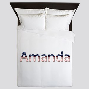 Amanda Stars and Stripes Queen Duvet