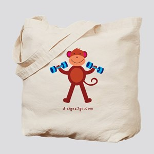 Weight Lifting Gear Tote Bag