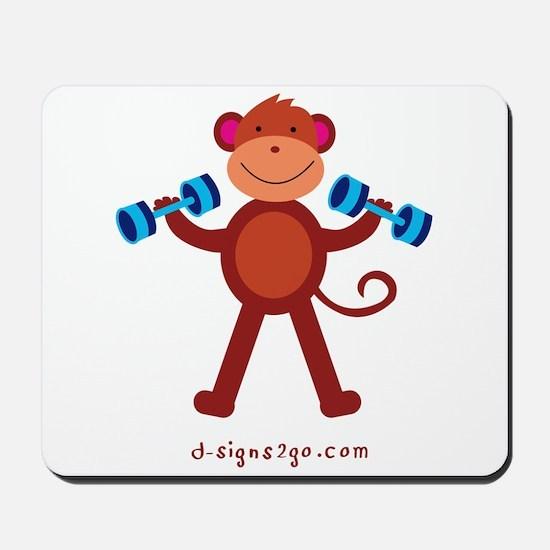 Weight Lifting Gear Mousepad