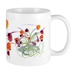 Atom Flowers Mug