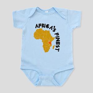 Tanzania Africa's finest Infant Bodysuit