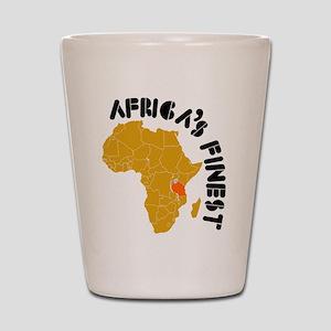Tanzania Africa's finest Shot Glass