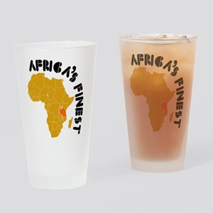 Tanzania Africa's finest Drinking Glass