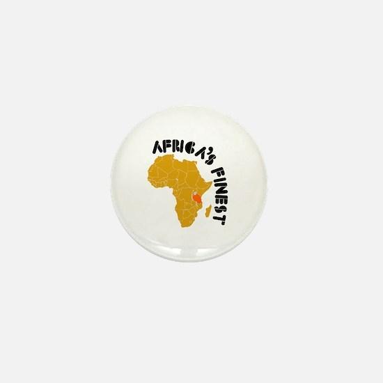 Tanzania Africa's finest Mini Button