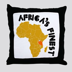 Tanzania Africa's finest Throw Pillow