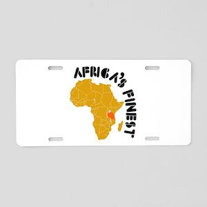 Tanzania Africa's finest Aluminum License Plate