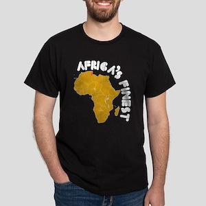Tunisia Africa's finest Dark T-Shirt