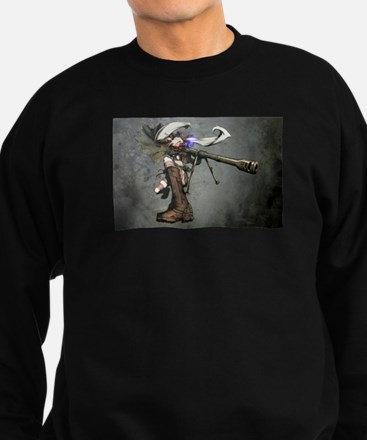 Anime gun girl Sweatshirt (dark)