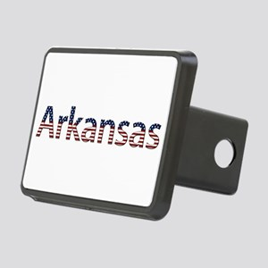 Arkansas Stars and Stripes Rectangular Hitch Cover