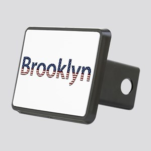Brooklyn Stars and Stripes Rectangular Hitch Cover