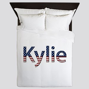 Kylie Stars and Stripes Queen Duvet