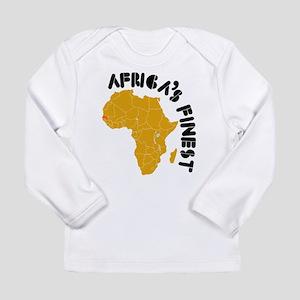 Senegal Africa's finest Long Sleeve Infant T-Shirt