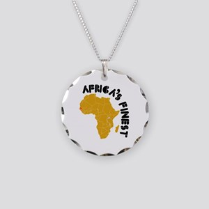 Senegal Africa's finest Necklace Circle Charm