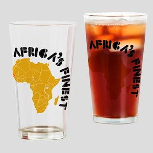 Senegal Africa's finest Drinking Glass
