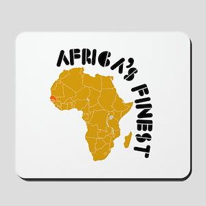 Senegal Africa's finest Mousepad