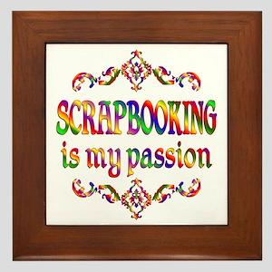 Scrapbooking Passion Framed Tile