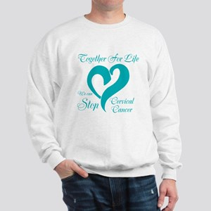Personalize Cervical Cancer Sweatshirt