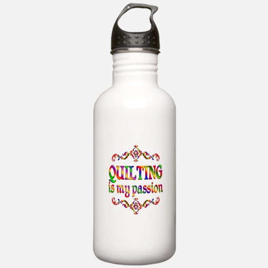 Quilting Passion Water Bottle