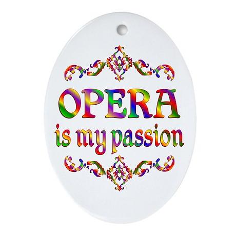 Opera Passion Ornament (Oval)
