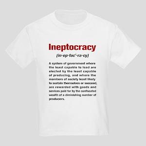 Ineptocracy Definition Kids Light T-Shirt